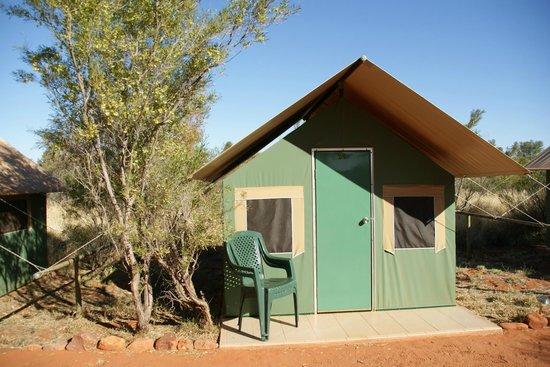 Kings Creek Station: Tente en toile du campement