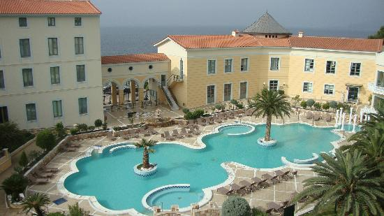 Thermae Sylla Spa Hotel: The amazing exterior pool and Spa buildings