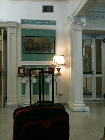 Hotel Virgilio: Reception area