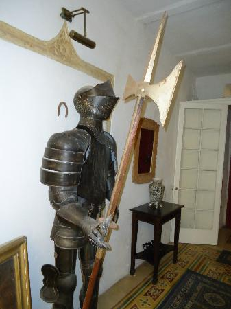 Palazzo Sant Ursula: My scary soldier