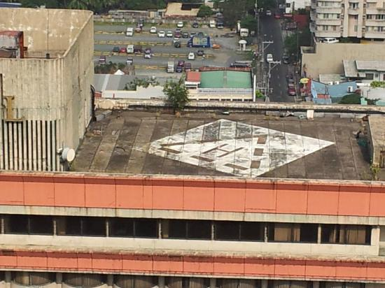 Baywatch Tower Manila: the view from the balcony of the abandon hotel one side