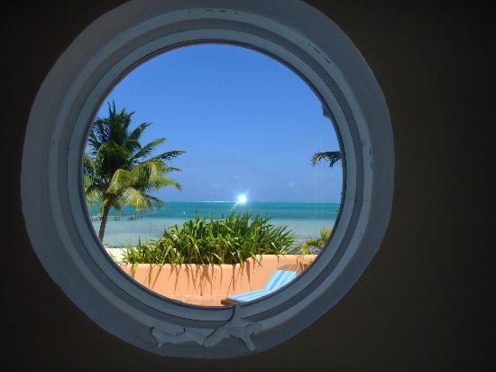 Seaside Villas Condos: View from condo