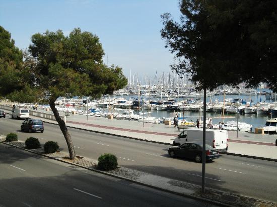 Hotel Costa Azul: View form balcony