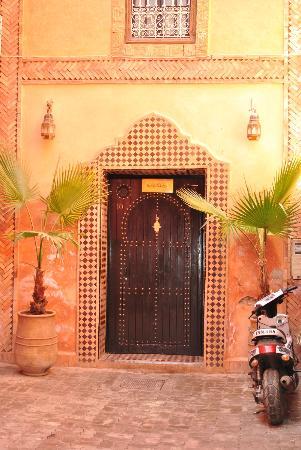 Riad Aliya : Entrance