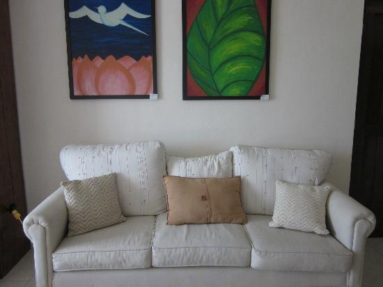 Casa Ixchel: Living room