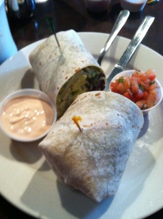 Other Side Cafe: breakfast burrito