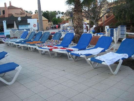 Tagoro Family & Fun Costa Adeje: our sunbeds