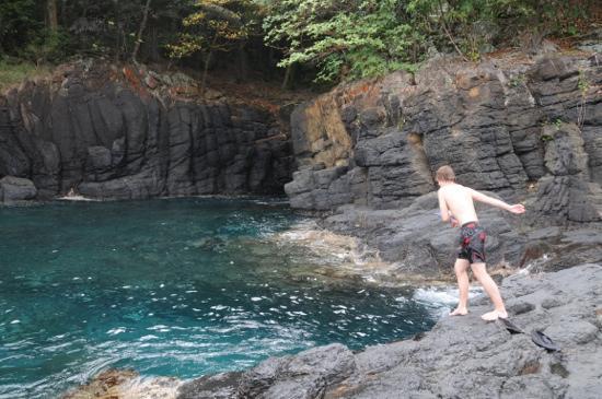Bom Bom Principe Island: nature pool