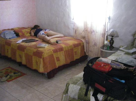 Hostal Cariguana: a little afternoon nap after a hike to El Macho