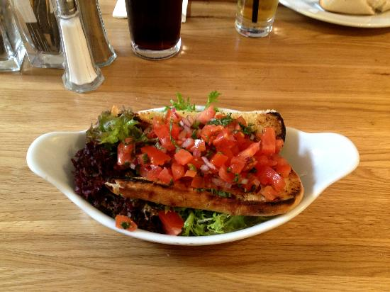 dock o' the bay: Bruschetta
