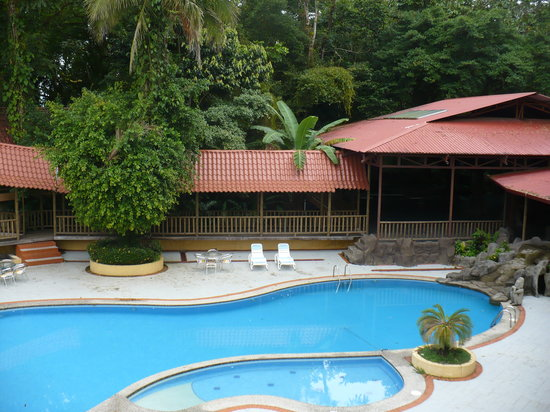 Puerto Viejo de Sarapiqui, Costa Rica: View of the pool