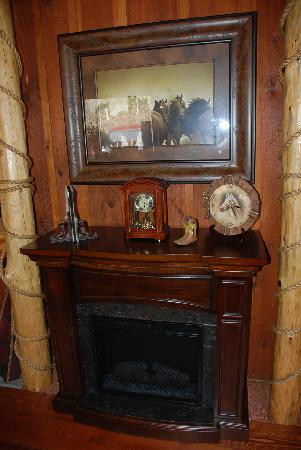 Buckaroo's Grille: Fire Place