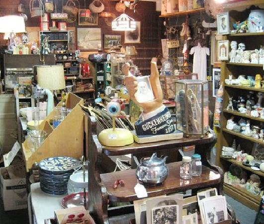 Mystery Spot Antiques: The main room (one of seven)