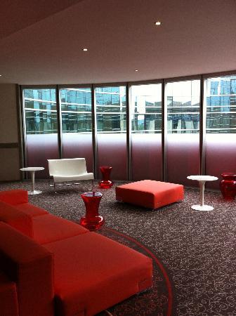 Mercure Bordeaux Cité Mondiale Centre Ville : couloir