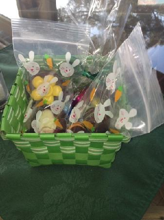 Windy Point Inn- Easter basket with handmade chocolates