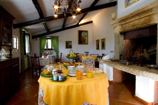 Relais Ortaglia: Breakfast room