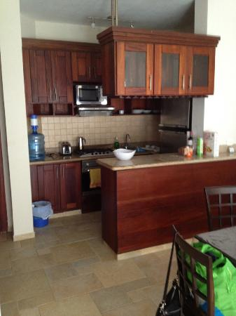 Porta Del Mare: kitchen in the one bedroom
