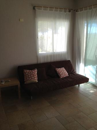 Porta Del Mare: living room in the 1bedroom
