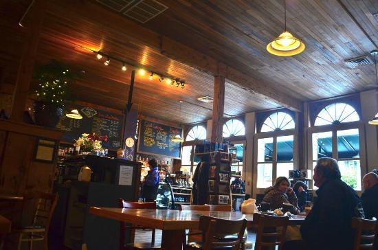 Inside GoodBean Coffee