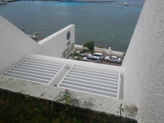 Casa Mexicana Cozumel: direkt an der Hafenpromenade