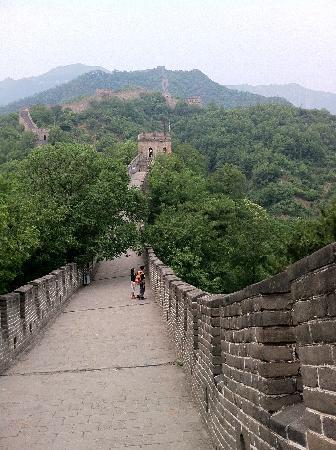 Slideway Picture Of Mutianyu Great Wall Beijing