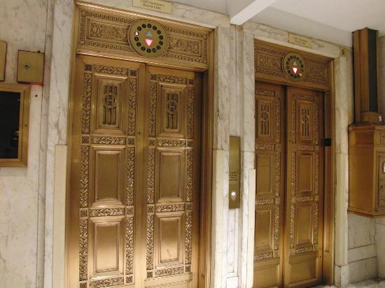 Congress Plaza Hotel: One of the elevators