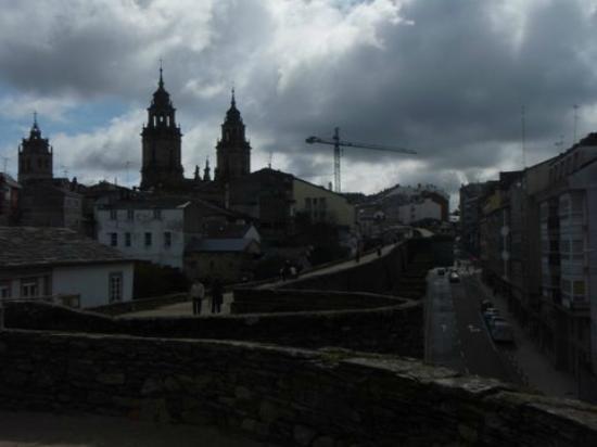 Las murallas romanas de Lugo: vistas