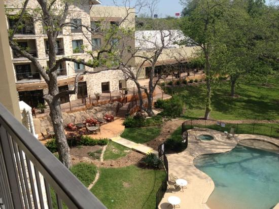 Courtyard by Marriott New Braunfels River Village: from our balcony in the back