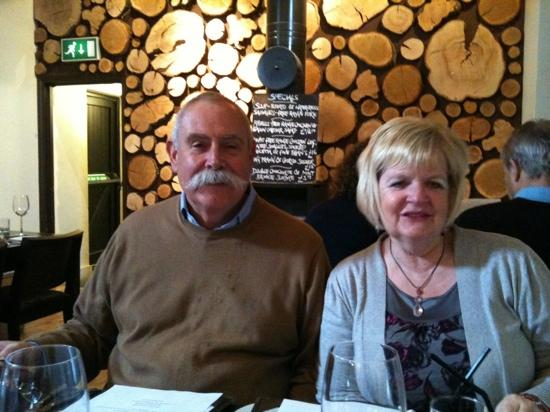The Eight Bells: my mum & dad having a lovely time