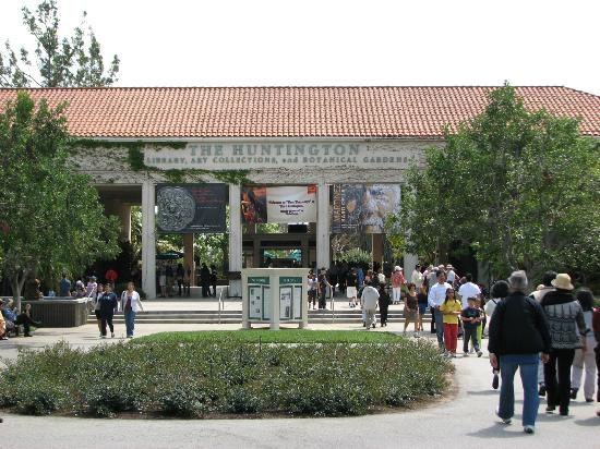 Main Entrance Picture Of The Huntington Library Art Collections And Botanical Gardens San