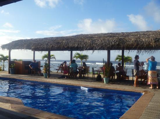 The Islander Hotel: Outdoor area