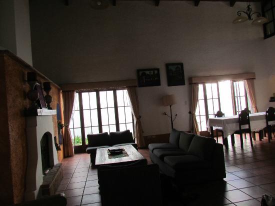 Hotel Palacio de Dona Beatriz : Living room