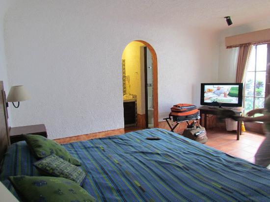 Hotel Palacio de Dona Beatriz: Master bedroom