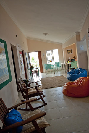 Bavaro Hostel: View of the common area