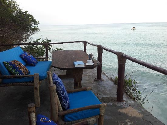 Sazani Beach Lodge: From outside the bar