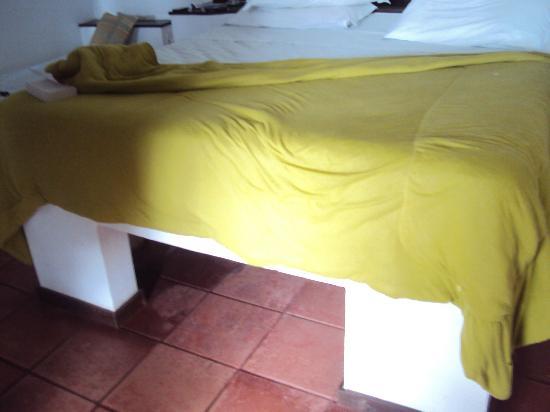 Martin Pescador: cama