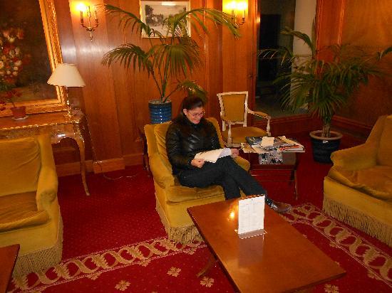 Hotel de Suede St. Germain: the lobby