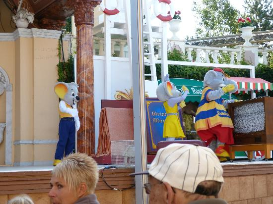 Europa-Park: spettacolo euromaus