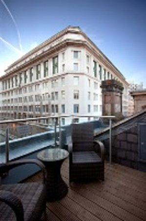 Heywood House Hotel: Balcony Room