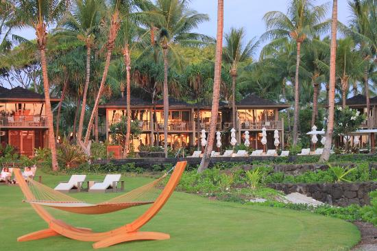Four Seasons Resort Hualalai: view of our room