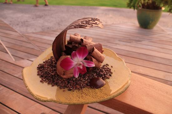 Four Seasons Resort Hualalai: Dessert at the Four Seasons....