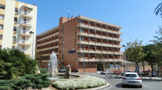 Hotel la Rapita: vista desde el Paseo