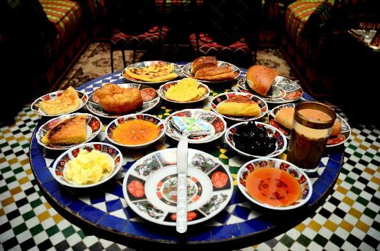 Dar Hafsa: breakfast