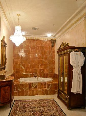 The Dansereau House: Bath in the Suite