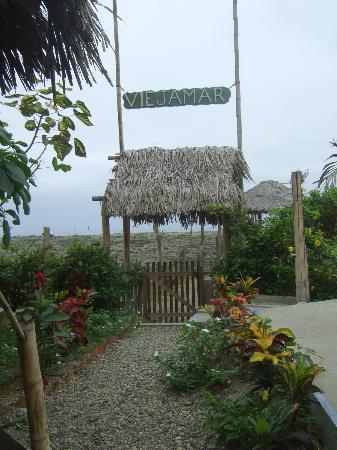 Viejamar Hostel: Way to the beach