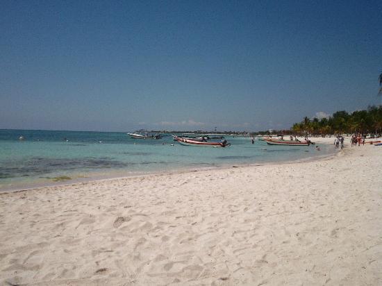 Plage d'Akumal: beautiful beach