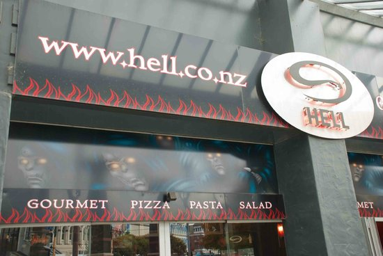 Hell Pizza: At the gate of Hell... Pizza