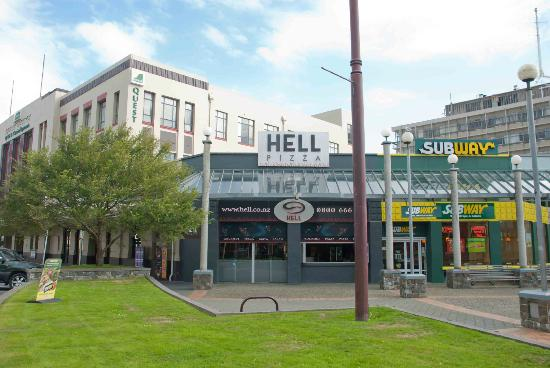 Invercargill's Hell Pizza