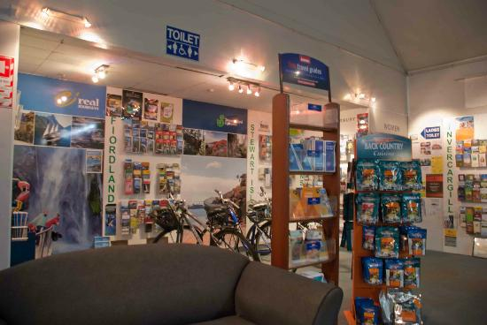 Invercargill i-SITE Visitor Information Centre : Great information on Southland