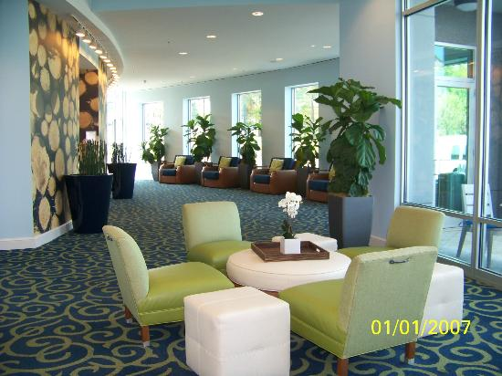 Hotel Indigo Raleigh Durham Airport at RTP: View to the Meeting Rooms